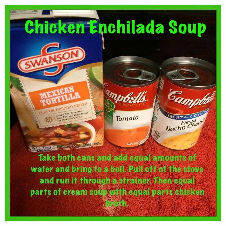 Chicken enchilada soup Bariatric liquid phase liquid