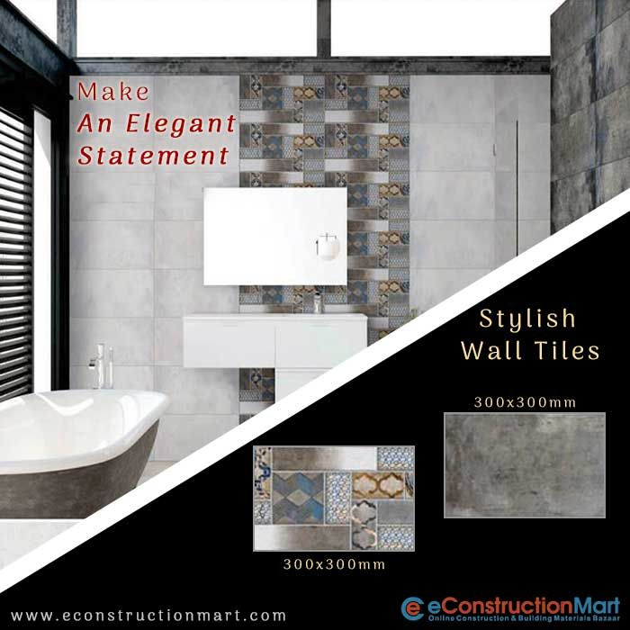 Sensuously Stylish And Designer Walltiles Can Give A Modernistic Feel To Your Bathroom Walls Shop Online At Www Econs Wall Tiles Price Wall Tiles Tiles Price