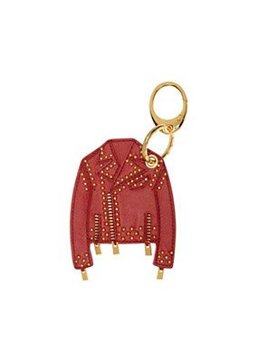Versace - Studded leather jacket key ring   Things i want   Llaveros ae39fd2ff8