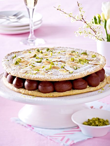 franz sische ostertorte rezept ostertorten pinterest easter easter recipes und sweets cake. Black Bedroom Furniture Sets. Home Design Ideas