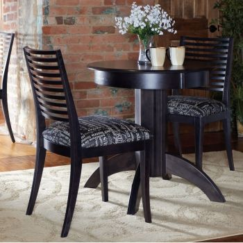 Small Modern Round Set Solid Wood Dining Sets Pinterest