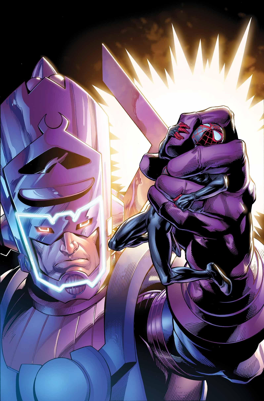 Miles Morales vs Galactus in Hunger | Marvel: Spider-man ...  Miles Morales v...