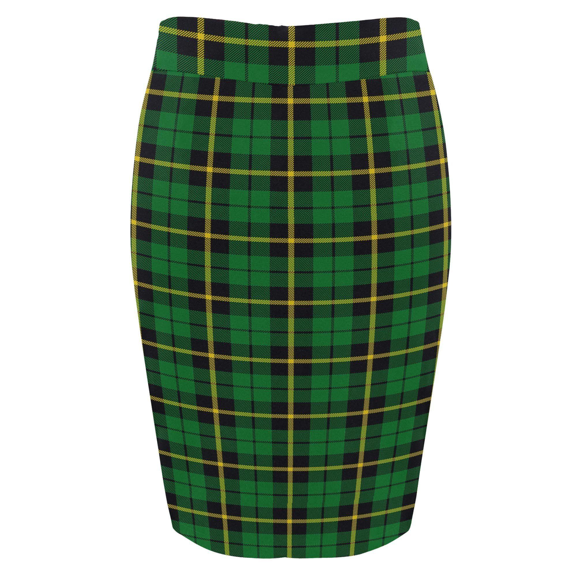 b88dd1e9b Tartan Skirt - Wallace Hunting - Green Fitted Skirt A9 in 2019 ...