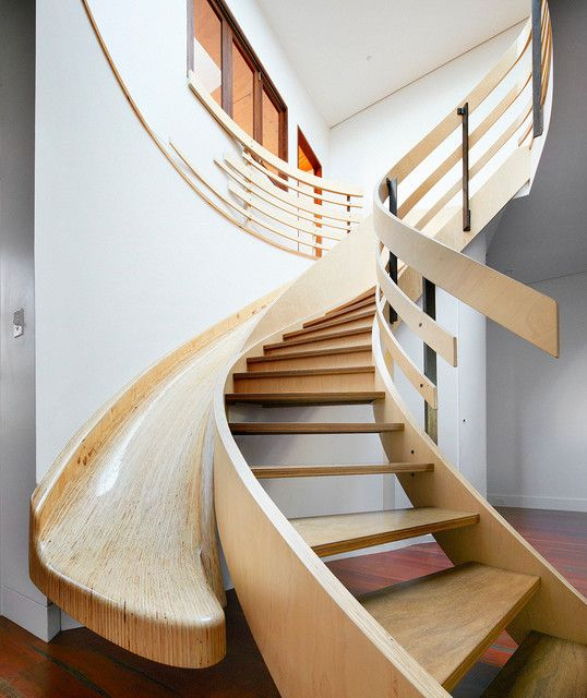 Decorating A Staircase Ideas Inspiration: 25 Brilliant Modern Staircase Design Ideas To Draw