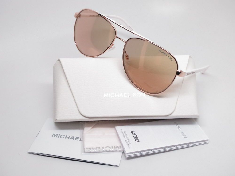 6fa910f82ca Brand   Michael Kors Model Number   MK 5007 Model Name   Hvar Color Code    1080R1 Frame Color   Rose Gold-Tone Lens Color   Rose Gold Flash Polarized