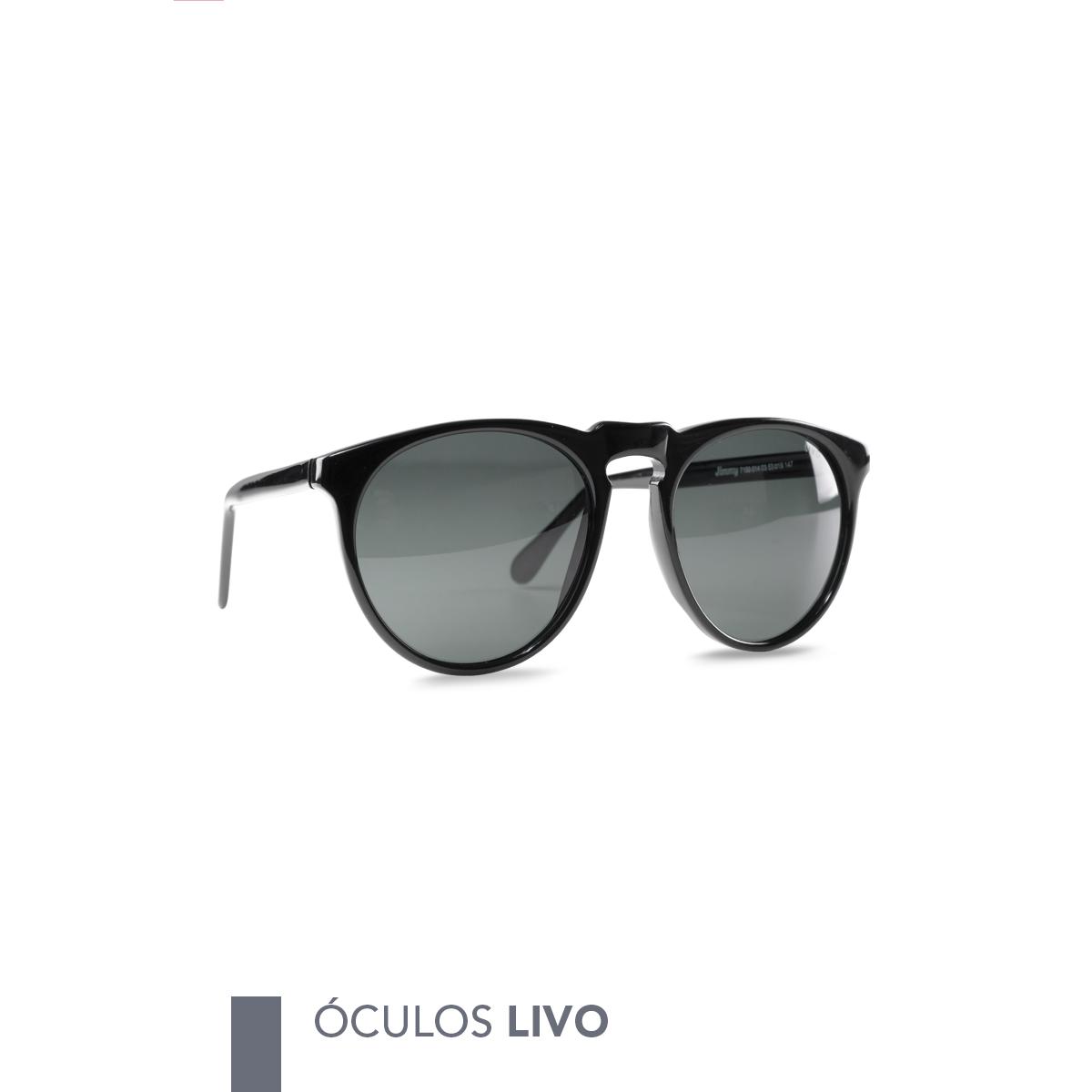 ada3133934f14 Óculos Livo Jimmy Solar Preto ⠀ ➝ Compre pelo site ou em nossa loja física ↳