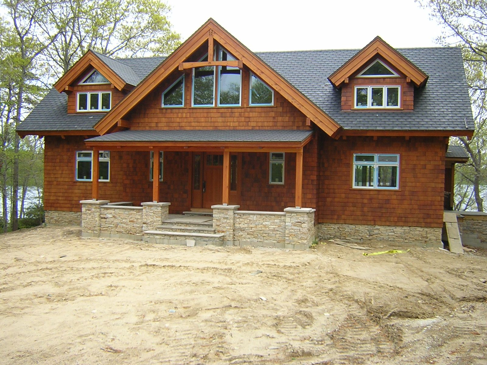 Craftsman Style Homes Timber Frame