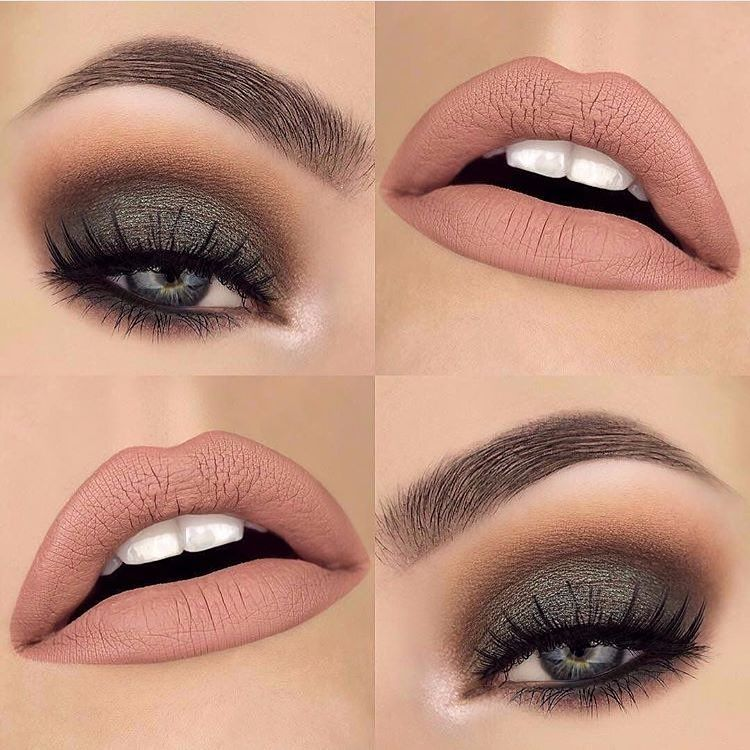 "@makeupthang. Details below: Brows ✨@anastasiabeverlyhills Brow wiz ""dark brown"", Eyes ✨@urbandecaycosmetics Gwen Stefani palette…"""