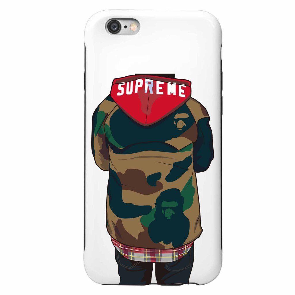 coque iphone 8 nike supreme