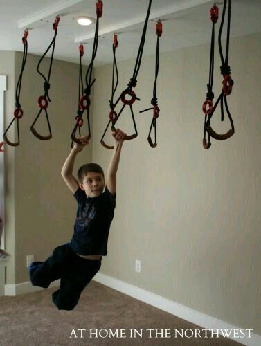 Pin On Indoors: Kids Basement, Indoor Jungle Gym, Kids Room