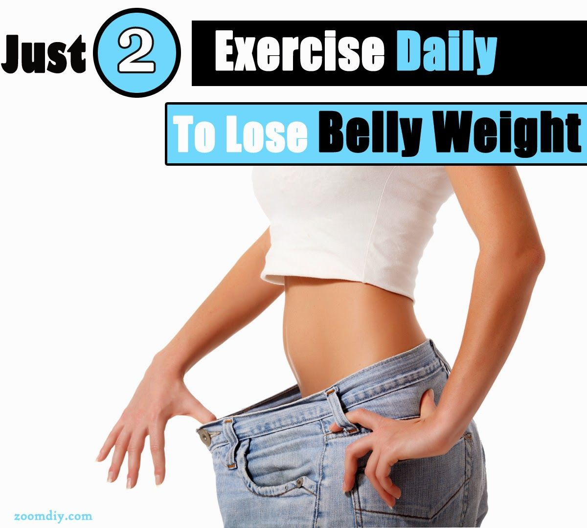 Zoomdiy the 2 exercises which promises your belly weight loss just 2 exercise daily to lose your belly weight ccuart Choice Image