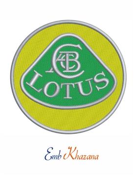 Lotus Car Logo Embroidery Design Lotus Car Embroidery Logo Car Logos