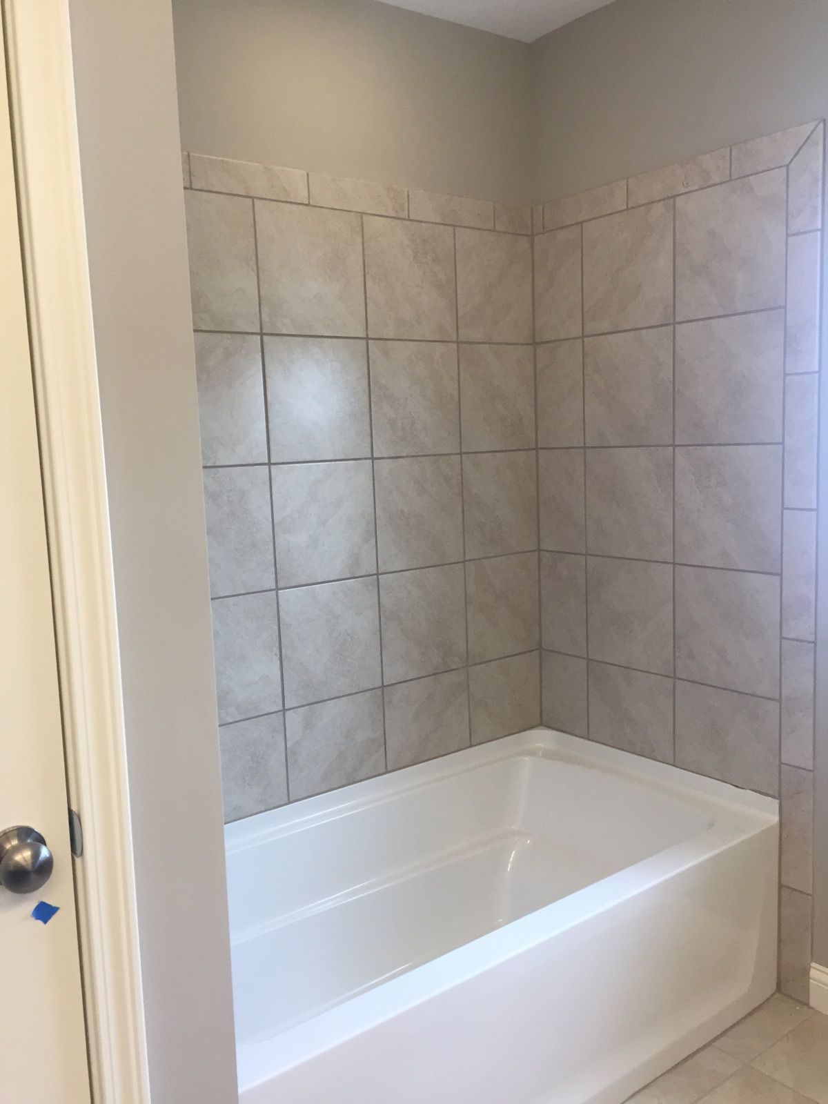 Cannes Candido 12x12 Tile On Walls Small Bathroom Bathroom Shower Design Grey Bathrooms
