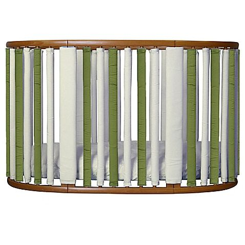 In soothing shades of sage and khaki, these Wonder Bumpers ...