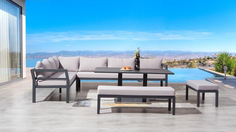Bondi Outdoor Lounge/dining Combo | Lavita Furniture | Outdoor ...