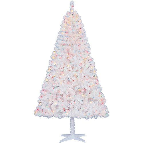 Madison Pine Christmas Tree: Eminent Pre-Lit 6.5' Madison Pine Christmas Tree Green