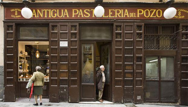 Antigua pasteler a del pozo madrid destino tiendas - Restaurante cuenllas madrid ...