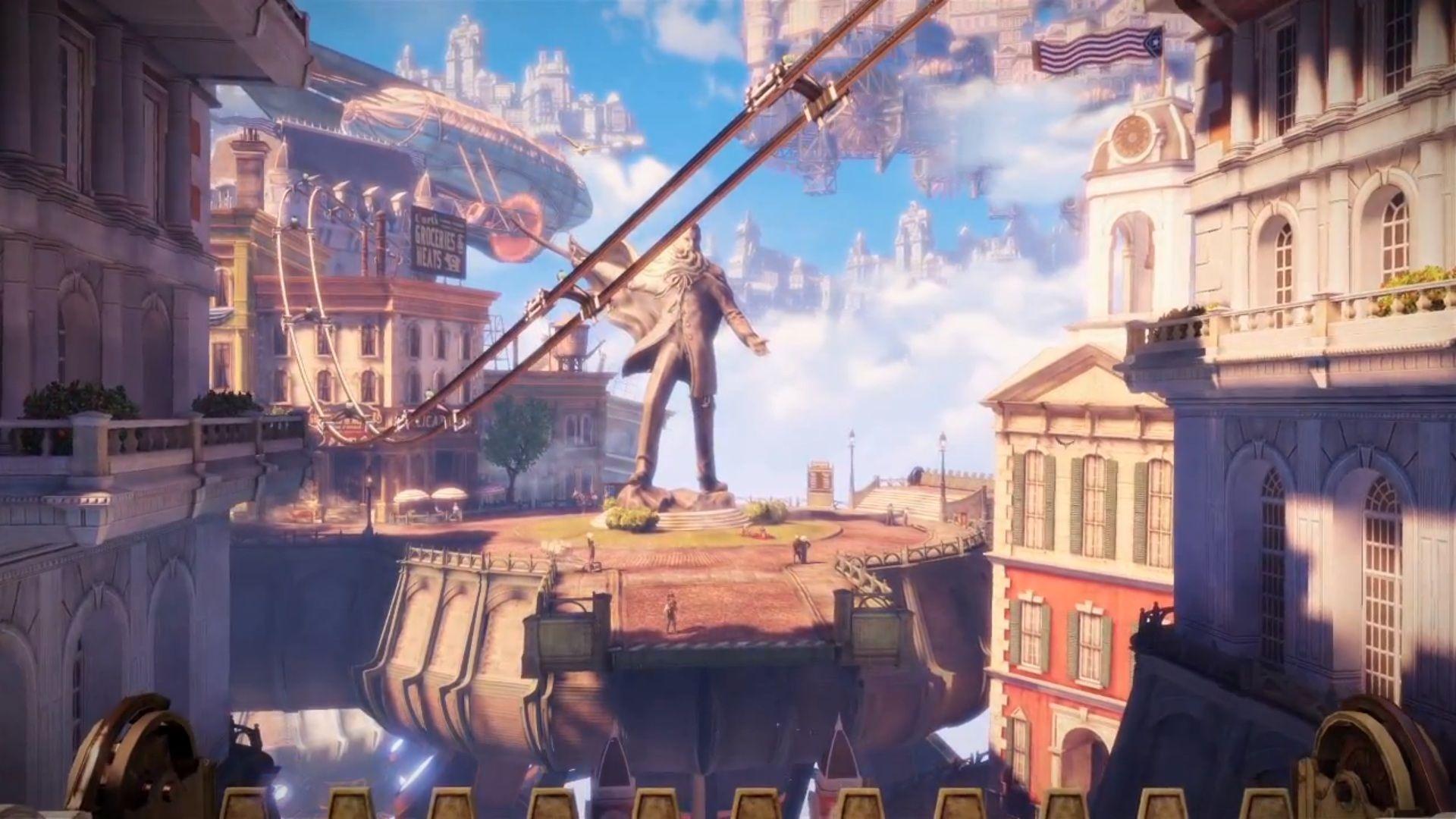 """Bioshock Infinite """"city In The Sky"""" Trailer"""