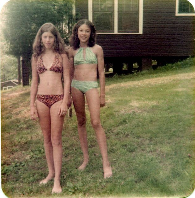 Color Snapshots Capture German Teen Girls In The 1970S -1723