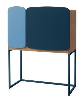 Casamania Legato Storage Unit Blue Made In Design Uk
