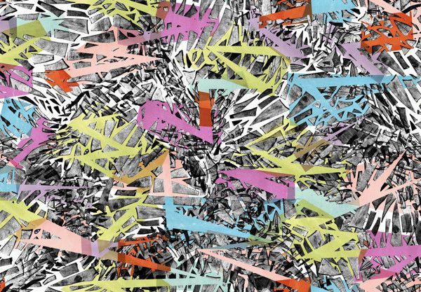 Shatter series-Prints for Apparel by Ana Codorean, via Behance