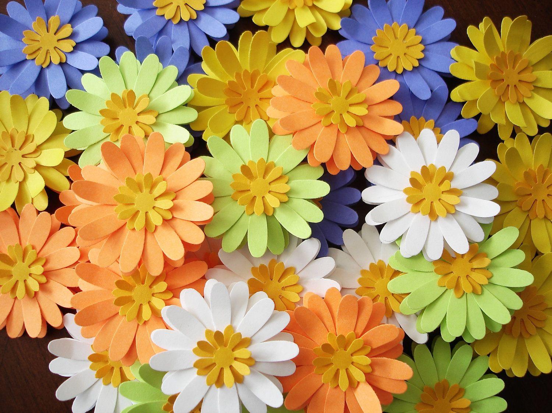 Gerber-a Daisy Paper Flowers
