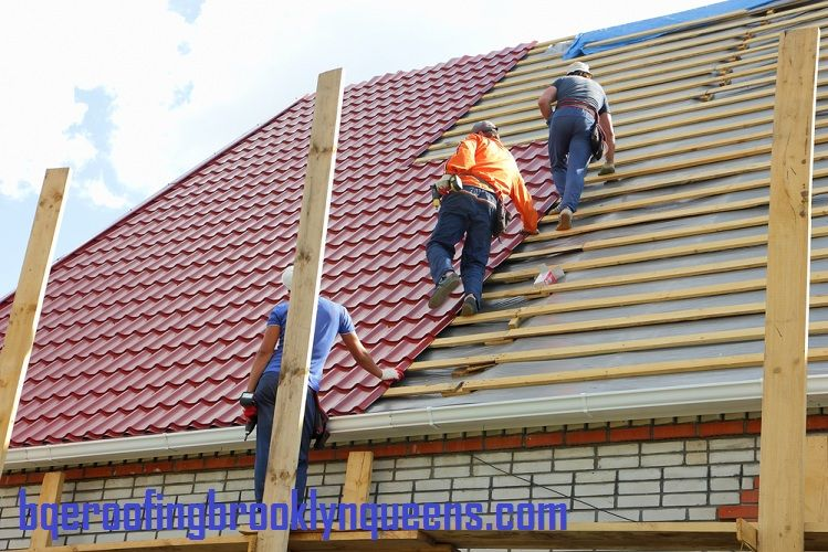 Bqe Roofing Brooklyn Queens Get The Best Roofing Services Near You Roof Installation Metal Roof Installation Flat Roof Replacement