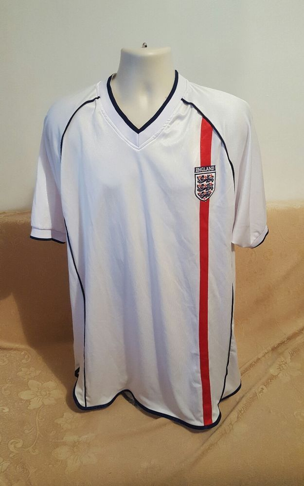 241a9251d68 England National Football Team Home Adult 2XL LL Jersey  10 OWEN  Malance   England