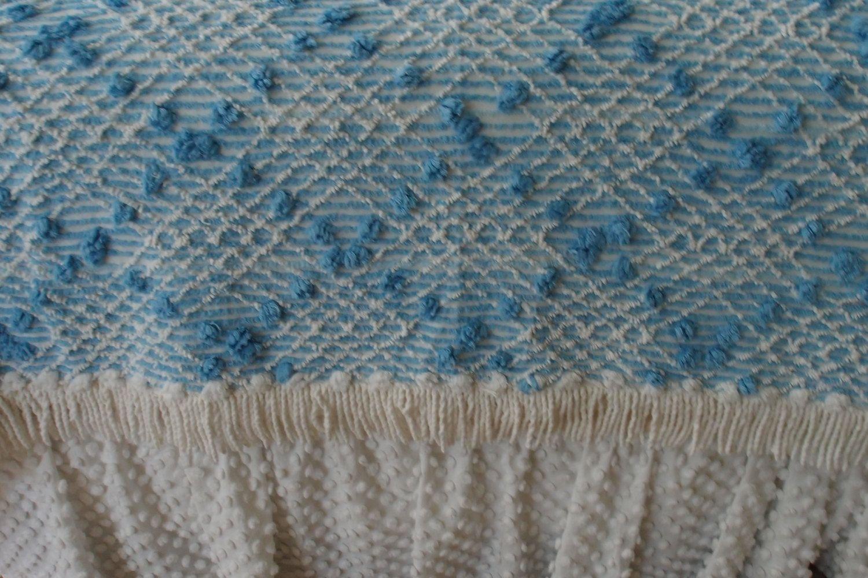 FREE SHIPPING USA Vintage Chenille Bedspread by craftscraftydeb