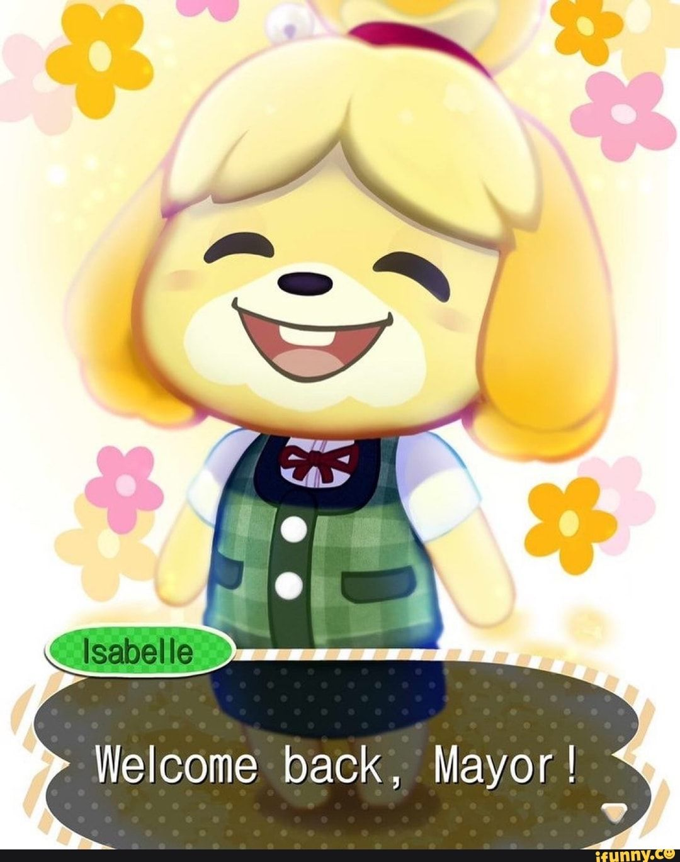 back, Mayor ! iFunny ) Animal crossing memes