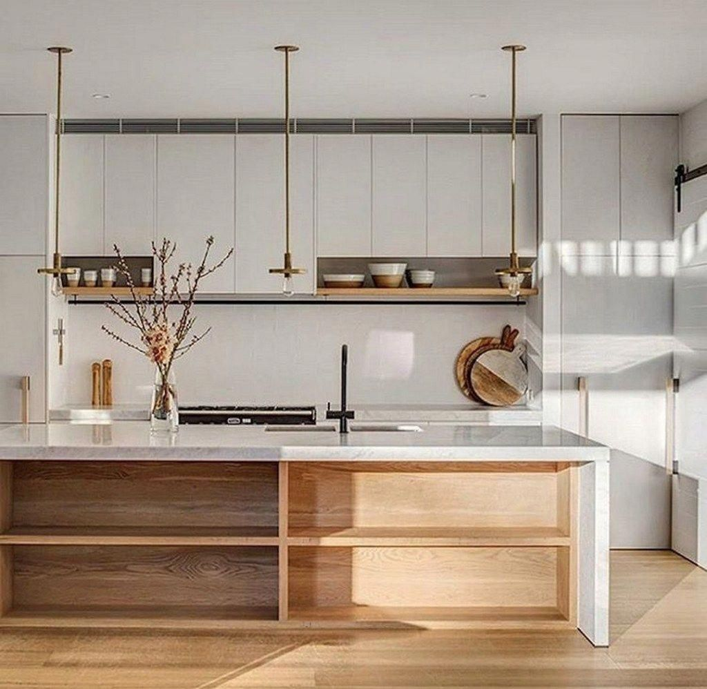 Awesome Modern Scandinavian Kitchen Ideas Kitchendecorpad Kitchenisland Scandinavian Kitchen Design Luxury Kitchen Design Minimalist Kitchen Design
