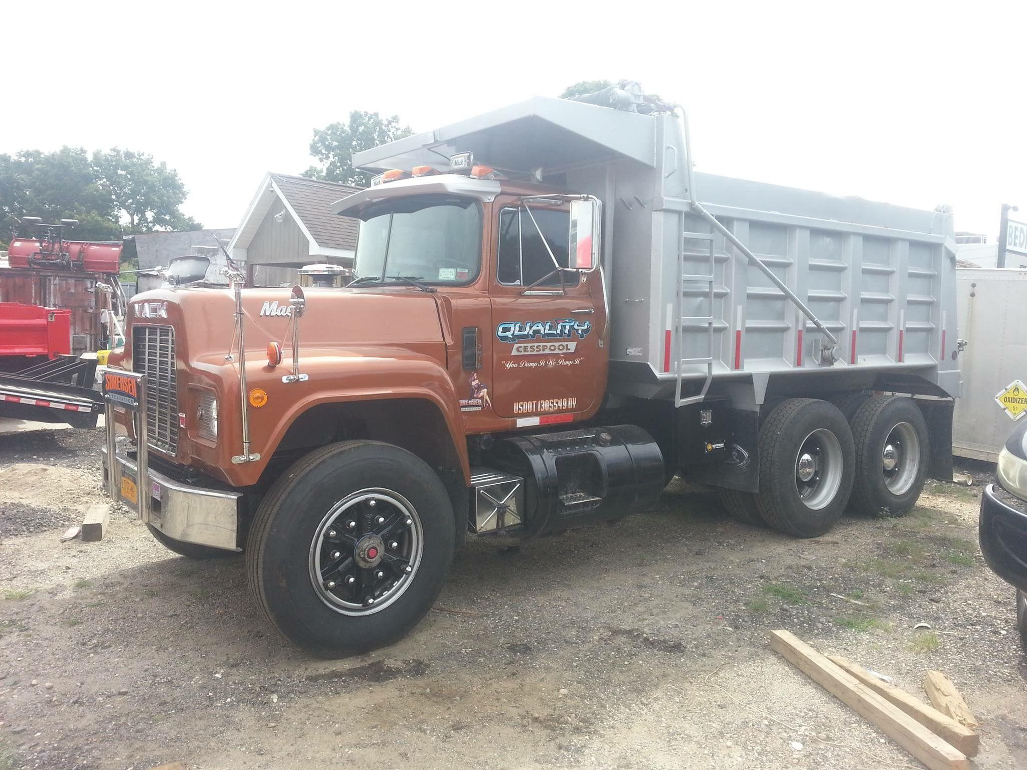 Mack 10 Wheeler Old Mack Trucks Mack Trucks Dump Trucks
