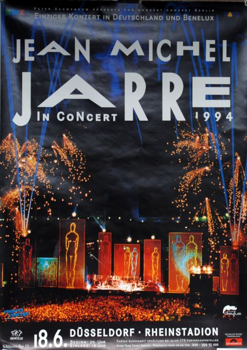 Jean Michel Jarre In Concert 1994 Dusseldorf Germany