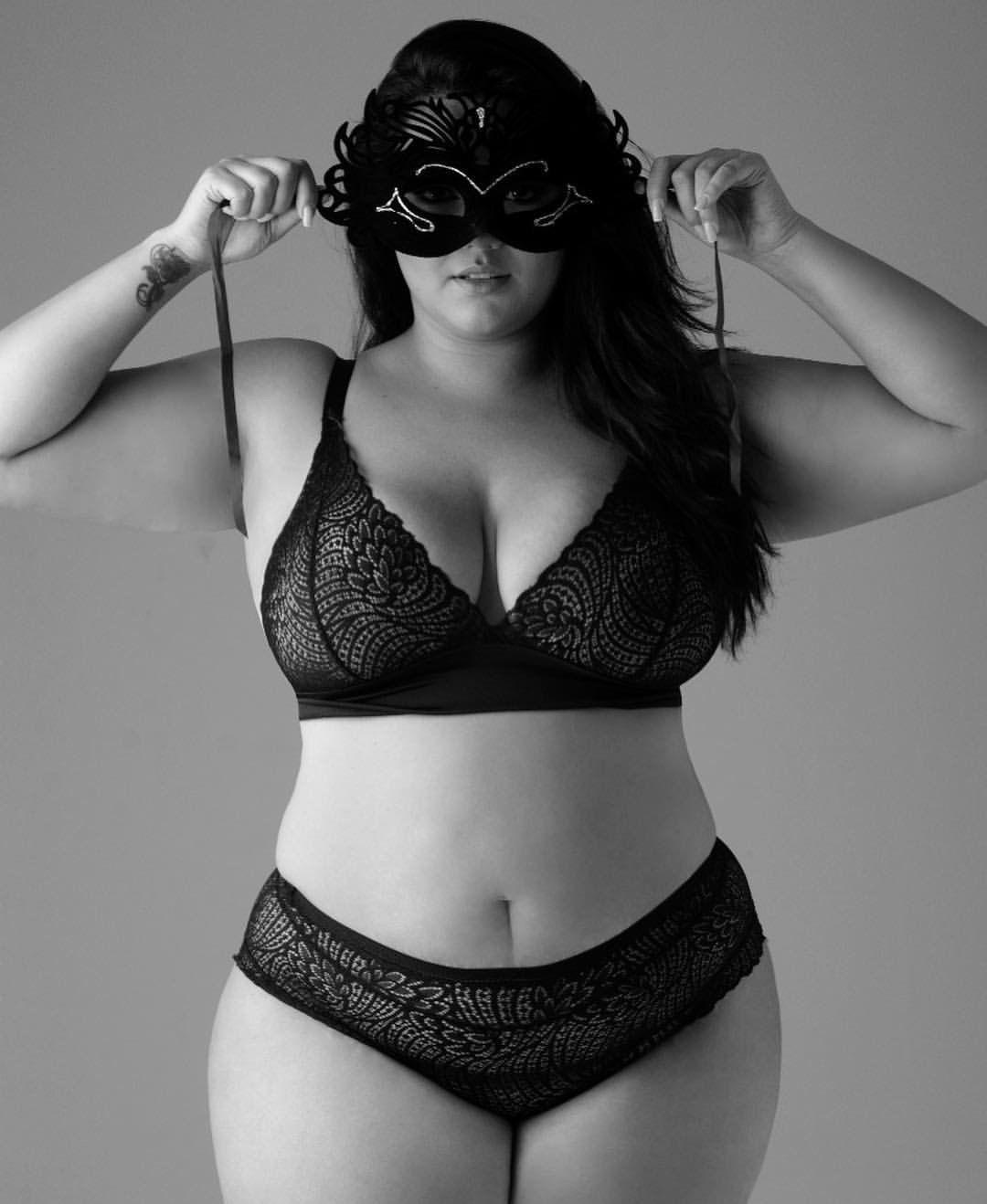 Confident chubby girls
