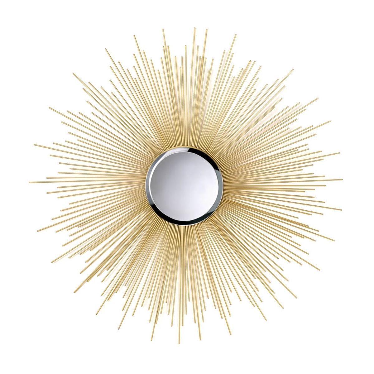 Decorative Starburst Gold Wall Mirror (Decorative Starburst Wall ...