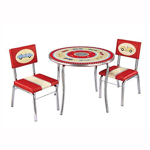 guidecraft retro racers table and chair set g85802 ** this is an