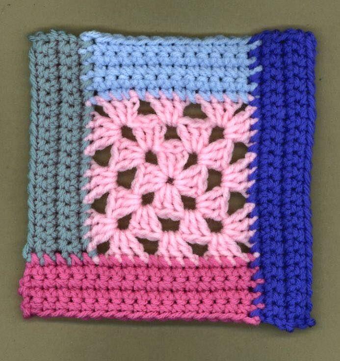 Pin de Lady Crochet en Granny Squares Passion | Pinterest