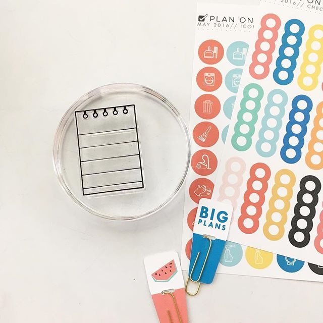 Stamping or stickers? Wait! Why choose?! Use them both! Find all of this and more on our website.