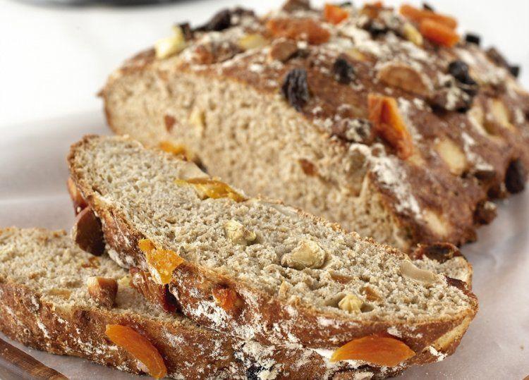 KitchenAid Stand Mixer recipe - Rustic fruit bread ...