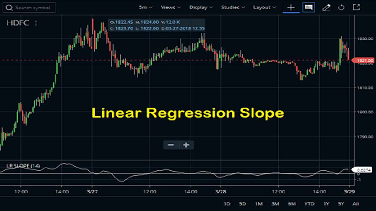 This Post Describes How To Attach The Linear Regression Slope