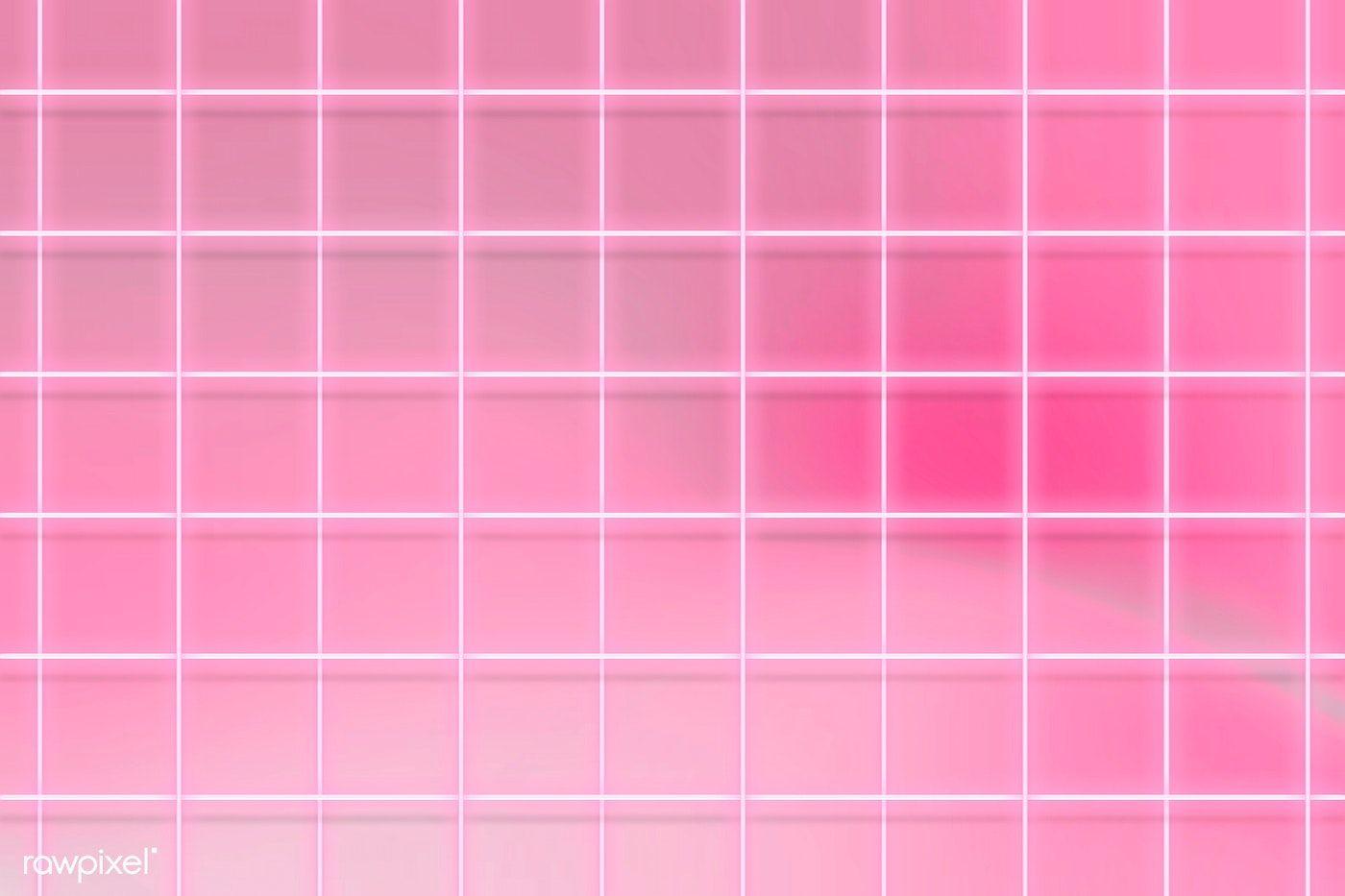 Download Premium Illustration Of Neon Pink Grid Patterned Background Background Patterns Pink Wallpaper Backgrounds Neon Backgrounds Aesthetic light pink grid wallpaper