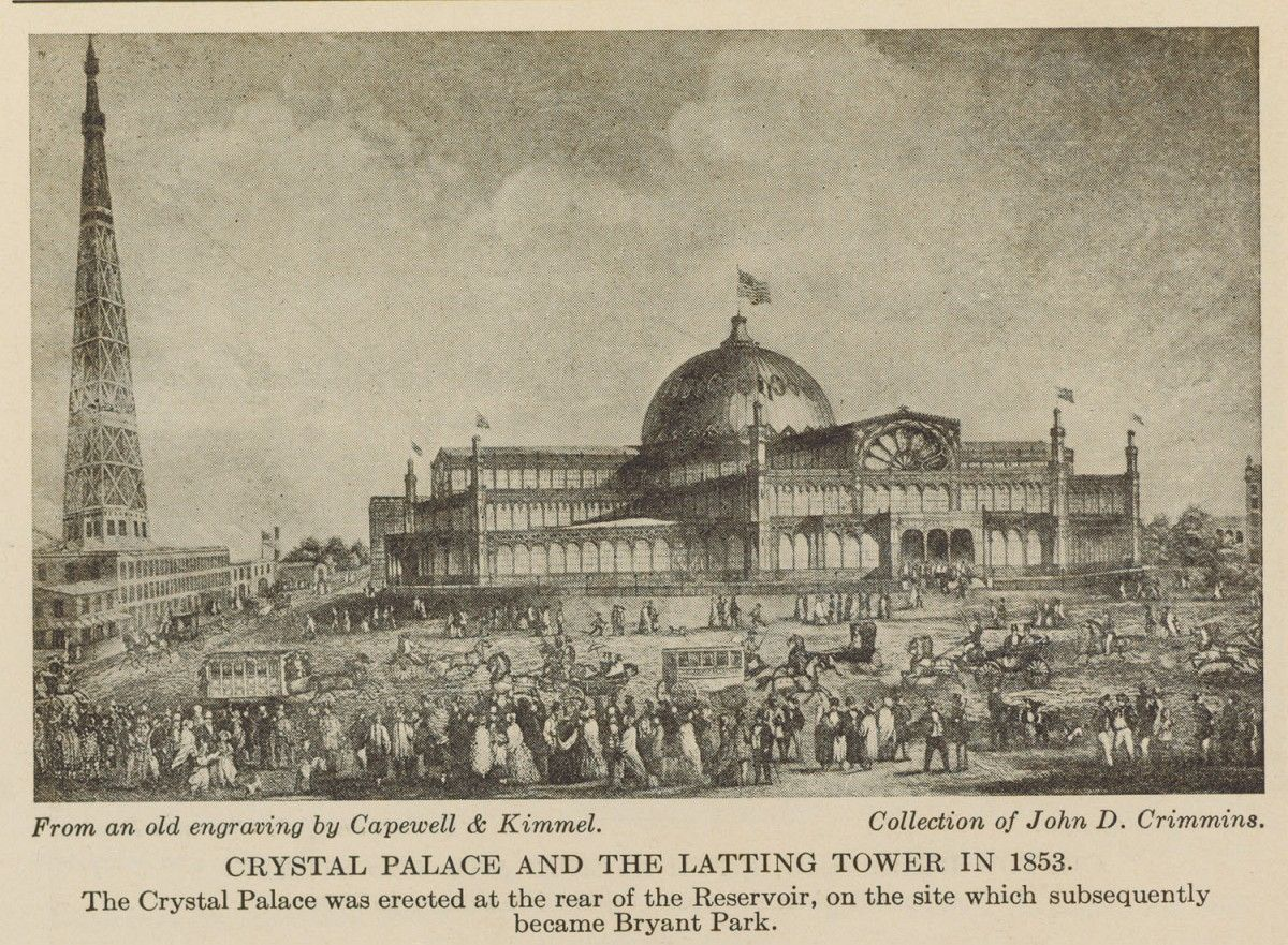 1853 new york worlds fair nycs crystal palace an answer to 1853 new york worlds fair nycs crystal palace an answer to londons crystal palace jeuxipadfo Gallery