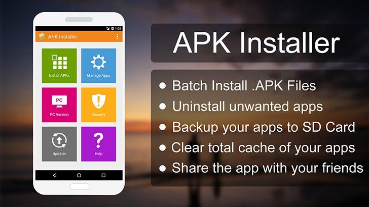 APK Installer App | Tool Apps | Windows Phone, Android apps, App
