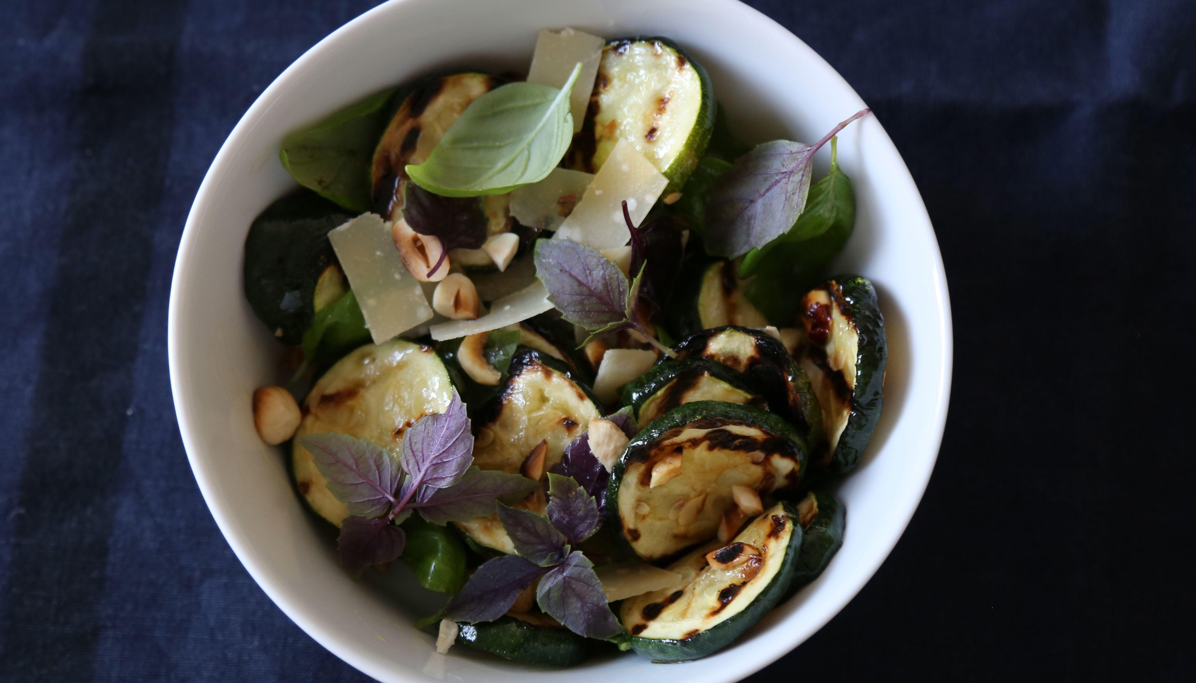 Zucchini salat rezepte vegetarisch