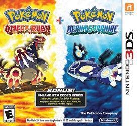 Pokemon Omega Ruby and Pokemon Alpha Sapphire Dual Pack – Nintendo 3DS
