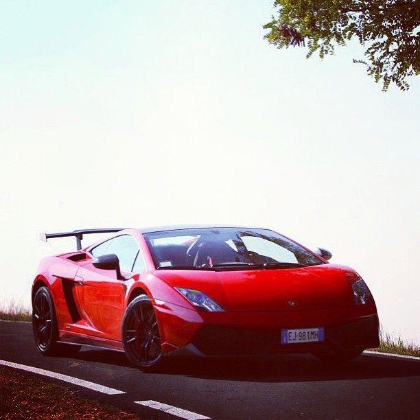Volcanic Red Lamborghini Ready To Erupt