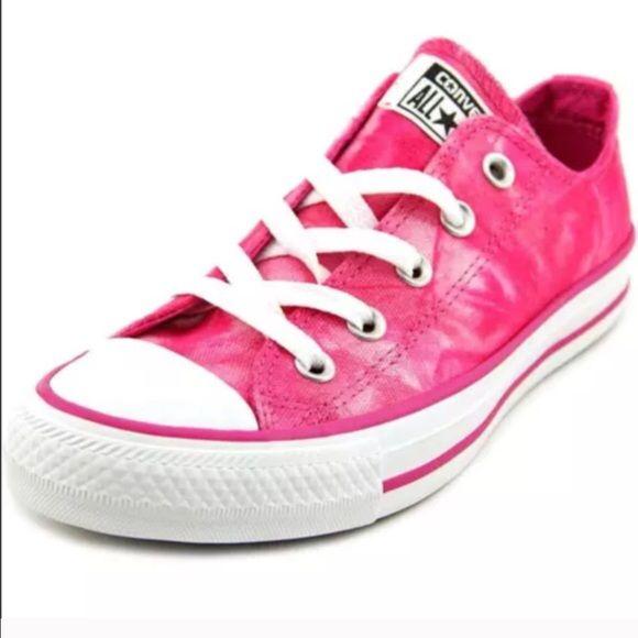 NEW Converse Chuck Taylor Pink Tie Dye