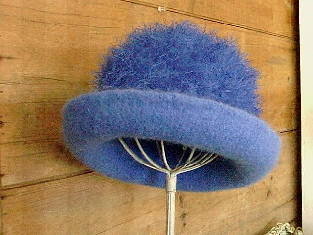 """Betty Blue"" by Millinery Madness"