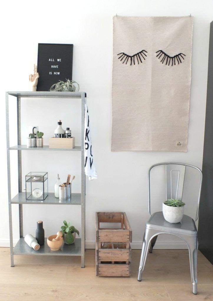 Küche ↠ Ein frischer Look für mein Hyllis Küchenregal und ein