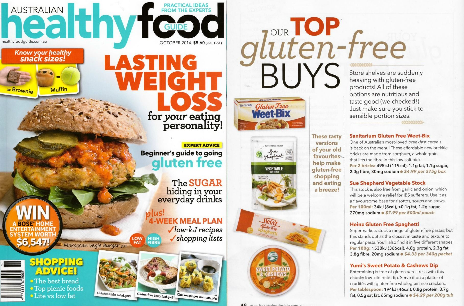 The Top Ten Gluten Free Buys Article In The Healthy Food